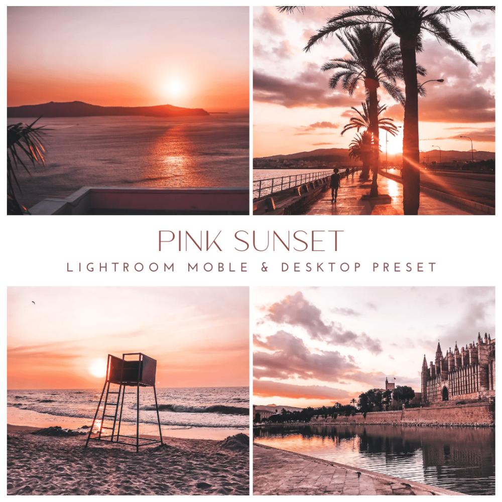Pink Sunset - Presety